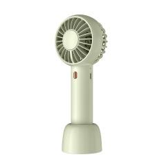 轻量迷你随身小风扇 简约双风叶充电手持风扇 实用小礼品有哪些