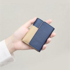 【小时光系列】做一个刚刚好的钱包 便携随身牛皮钱包 商务礼品送些什么