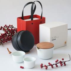 【风铃】飞形物便携一壶两杯茶具礼盒套装 会议庆典小礼品