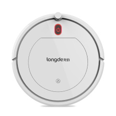 龍的(longde)纖薄智能掃地機器人  大吸力強勁清潔 小家電禮品定制