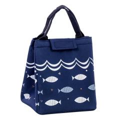 年年有鱼便当包 防水牛津布舒适不勒手  日常实用的礼品