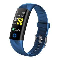 夜跑必备彩屏智能运动手环 动态心率/血氧/血压/计步/呼吸灯 一键体检多功能手环