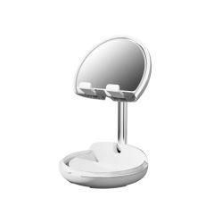 桌面手机支架 化妆镜手机平板通用支架 懒人网红支架 送员工什么好