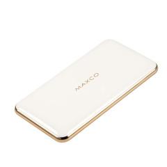 MAXCO 新时代刀锋10000毫安无线充电宝 土豪金侧边系列  年会奖品 活动小奖品