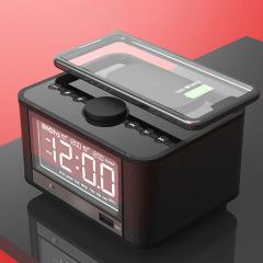 床边低音炮 蓝牙多功能无线充 智能闹钟 企业员工生日礼品方案
