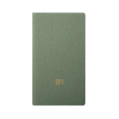 2021企业定制时尚简约仿皮布纹 A6便携周计划本子日程本笔记本