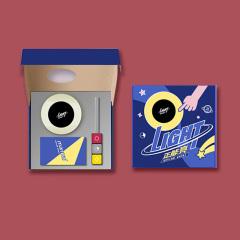 【正能量】时尚潮流科技礼盒 触屏小夜灯+魔方数据线 周年庆送什么礼品