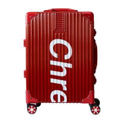 潮牌旅行拉杆箱 20寸时尚铝合金登机箱 创意商务礼品
