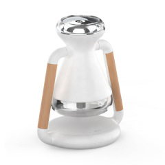 SLOW 时漏 生活与艺术 USB空气净化器加湿器 可带无线充桌面创意摆件 端午节送礼方案