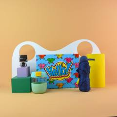 员工创意实用礼盒 蓝牙音箱+水杯+雨伞  活动聚会奖品