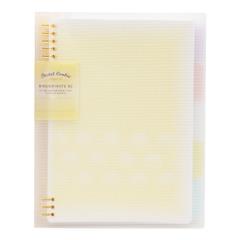 日本国誉(kokuyo)     B5/A5外壳淡彩曲奇柔光活页本   笔记本定制礼品