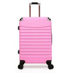 时尚拉链款拉杆箱 20寸可登机行李箱 创意商务礼品