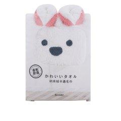 珊瑚绒柔软毛巾浴巾 动物造型卡通公仔洗脸家用吸水擦脸巾 促销礼品