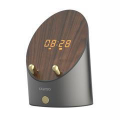 KAWOO灵犀感应音箱 无线蓝牙音箱 桌面迷你小音响闹钟手机架  抽奖礼品方案 黑科技创意礼品