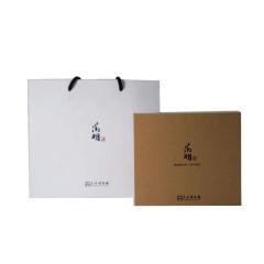 【苏州博物馆】文徵明石湖图温酒壶套装 会议伴手礼