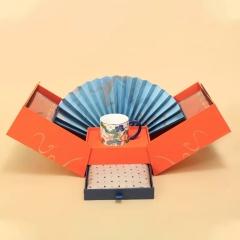 【福星高照】新年限量礼盒 羊毛围巾+瓷杯+红茶 年会创意高端礼品