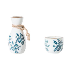 复古中式陶瓷白酒杯酒壶   茶杯 礼品
