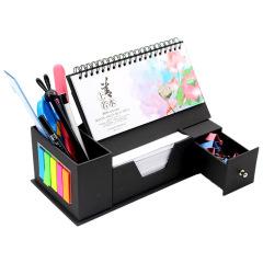 2020年多功能笔筒台历抽屉盒 环保材质多功能收纳 节日活动奖品