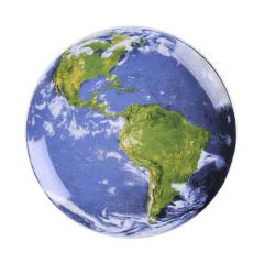 创意宇宙星球摆盘 北欧风现代陶瓷盘 8寸陶瓷碟可定制