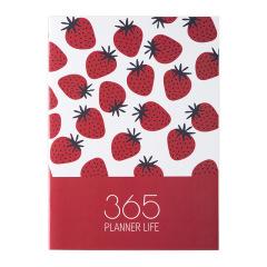 2021A4日程本效率手册 办公小秘书计划本子 创意个性文具批发 展会创意小礼品