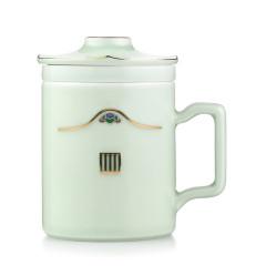 菲驰(VENES)龙泉青瓷茶艺杯办公室陶瓷泡茶杯 什么礼品最吸引人