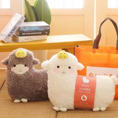 【会按摩的小羊驼】羊驼按摩抱枕 日式卡通按摩枕 公司生日礼物