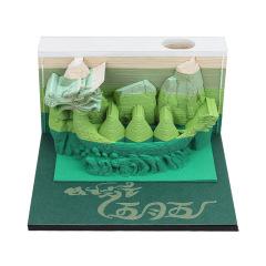 【端午龙舟】中国风龙舟立体便签本 创意便签桌面摆件 端午节创意礼品