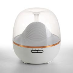 七彩夜灯山隐香薰机 智能遥控三档定时功能600ml大容量可调节雾量加湿机 实用创意礼品