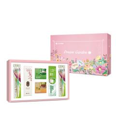 LG健康生活 韩国进口6件套 梦幻花园C 日用品礼盒 生活礼品