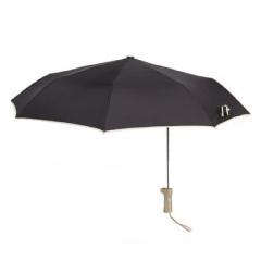 创意折叠偏心伞 韩版三折黑胶特色偏心伞    商务功能礼品