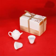 【伯仲】高端功夫茶具套装 一壶二杯 商务礼品送什么合适