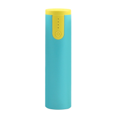 【2600毫安】小巧便携圆柱圆柱充电宝 经典款级款带手电二合一迷你移动电源 20元以内的数码礼品