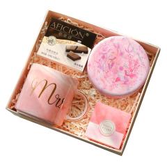 歌斐颂勿忘我少女心伴手礼 杯子+巧克力礼盒套装 定制节日送礼礼品