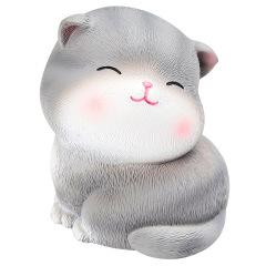 可爱卡通猫咪树脂摆件 创意家居桌面车内装饰 公司七夕节送什么礼物好