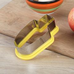 不锈钢切西瓜神器 冰棒雪糕造型模具--黄色 促销活动赠品方案