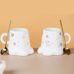 【中国国家博物馆】犀尊牛脚茶杯茶具 精致时尚的伴手礼