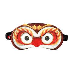 【火眼金睛】创意真丝国潮风遮光冰袋眼罩 30元以下营销礼品
