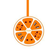 创意柠檬智能立式插座 Trozk带USB多功能插板 排插 接线板