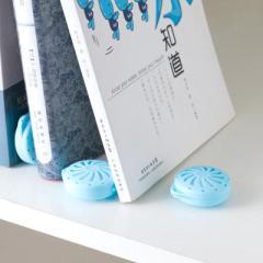 梵特风扇型带收纳盒樟脑丸--蓝色(12个装) 日常创意礼品