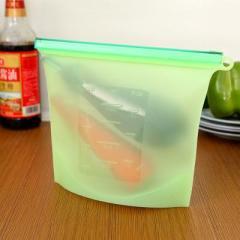 便携硅胶食品保鲜袋--绿色