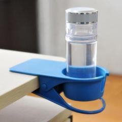 佑贝尔创意桌边水杯托-蓝色