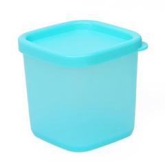 多功能迷你230毫升保鮮盒/冰箱微波爐儲物盒--藍色 實用的小禮品