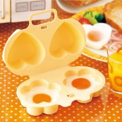 微波爐愛心花造型蒸蛋器 5元內小禮品