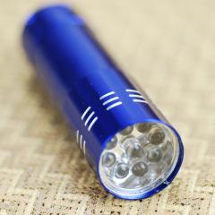 实用迷你铝合金LED强光手电筒 便宜小礼品