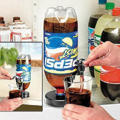 可乐瓶倒置饮水机/开关饮用器 夏天实用礼品