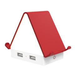 【暖小屋】创意多功能USB插座台灯手机pad支架 创意数码礼品