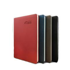 变色PU皮笔记本记事本 A5B5笔记本记事本商务办公文具 可定制LOGO文具 企业促销礼品定制