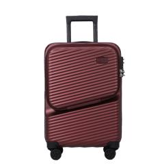 法国乐上(LEXON)20寸行李箱 拉杆箱 万向轮旅行箱 商务密码箱