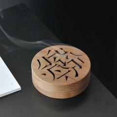 木雅仿古盘香炉  檀香盒熏香炉 桌面摆件 纪念礼品