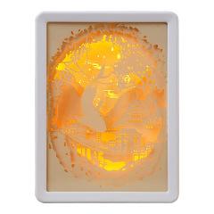 【来图定制】创意实用纸雕灯 纪念意义 桌面摆件